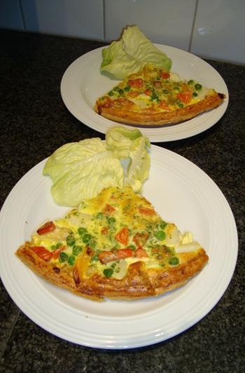 Vegetarische quiche of groentetaart 7
