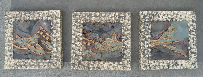 golvende zee keramiek wanddecoratie � gette