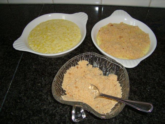 Rijstpap met bruine suiker 1