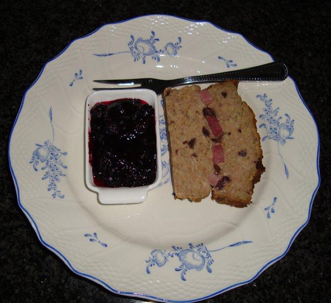 Terrine met ham en cranberry's 1