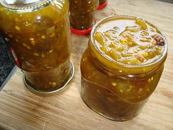 Chutney van groene tomaten 10