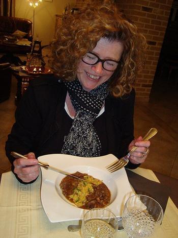 Everzwijnragout met paddenstoelen en risotto 7