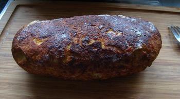 Gehaktbrood met krieken of warme kersen 3