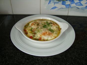 Gestoofde champignons met eieren 8