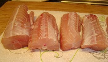 Hondshaai (zeepaling) met zuiderse groentjes 2