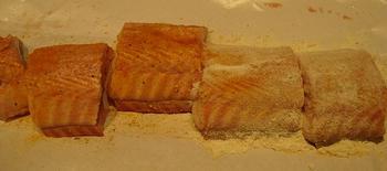 Hondshaai of zeepaling met mosterdsaus 3