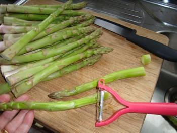 Involtini met asperges of kalfsrolletje met asperges 2