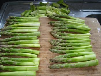 Involtini met asperges of kalfsrolletje met asperges 3