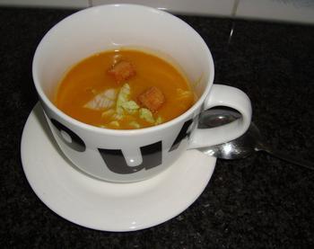 Kikkererwtensoep met tomaat 4