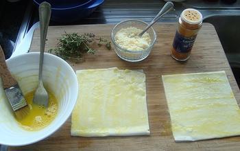 Palmiers met kaas en tijm 2