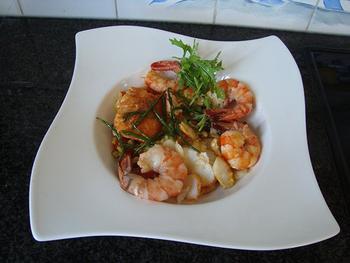 Risotto met zeevruchten en Mediterane groentjes 3