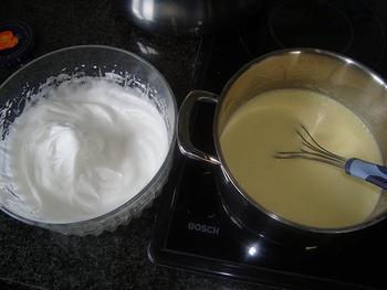 Vanillebavarois met in porto gestoofde rabarber 9