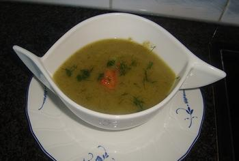 Venkelsoep met tomatenblokjes 2