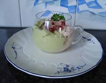 Vismousse met avocadomousse 10