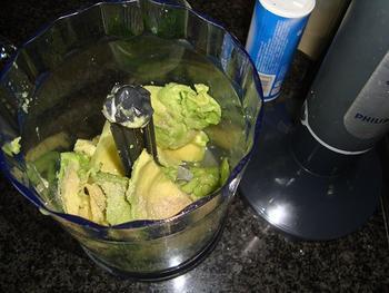 Vismousse met avocadomousse 6
