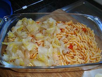 Witloof op zijn Portugees met pasta 5