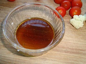 Zomerse salade met mozarella en merguez 4