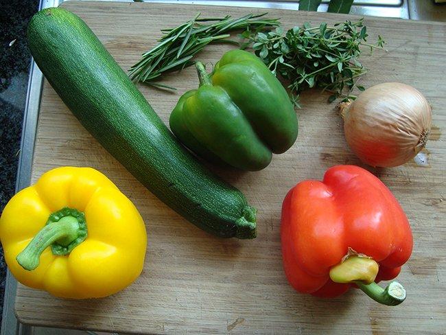 Geroosterde groenten 1
