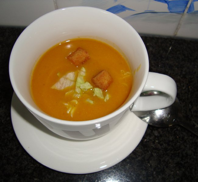 Kikkererwtensoep met tomaat 1