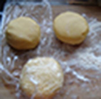 Appelgebak met zanddeeg en amandelpraliné 2