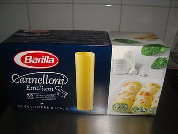 Cannelloni gevuld met garnalen en champignons 4