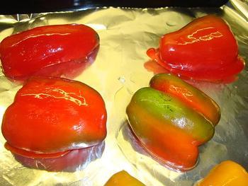Carpaccio met paprikapesto en kaas 3