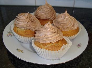 Cupcakes met blauwe bessen 6
