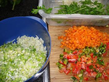 Eenvoudige runderbouillon met groentjes 4