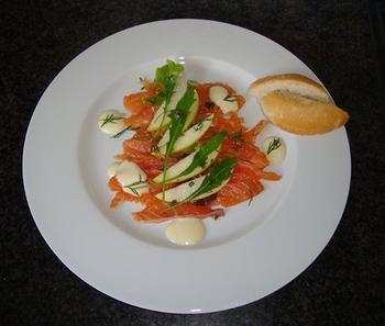 Gravad lax of gemarineerde rauwe zalm 8