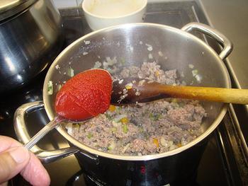 Ovenschotel van savooikool en gehakt 5