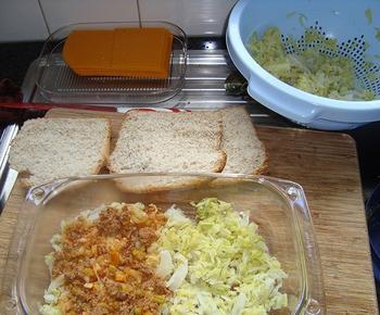 Ovenschotel van savooikool en gehakt 7
