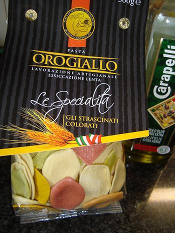 Pasta met kaassaus en spekjes 2
