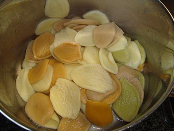 Pasta met kaassaus en spekjes 4