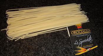 Pasta met tapijtschelpen en champignons 4