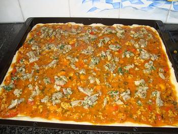 Pizza met oesterzwammen 5