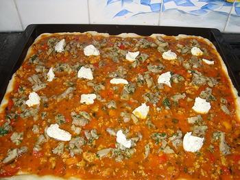 Pizza met oesterzwammen 6