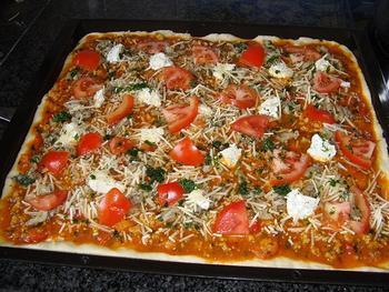 Pizza met oesterzwammen 7