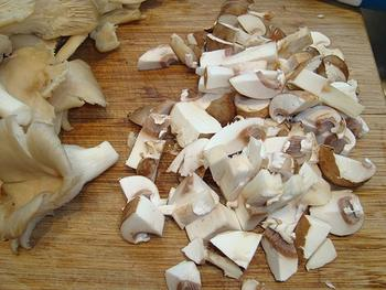 Reefilet, pastinaakcrème en paddenstoelenrisotto 6
