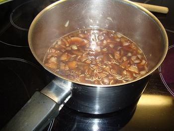 Roulade van fazant met wortelcrème en gekarameliseerde witloof 9