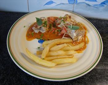 Saltimbocca met Passendale kaas en tomatensaus 10