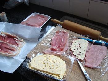 Saltimbocca met Passendale kaas en tomatensaus 3