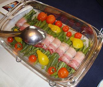 Saltimbocca van kip met kaas en paprika 8