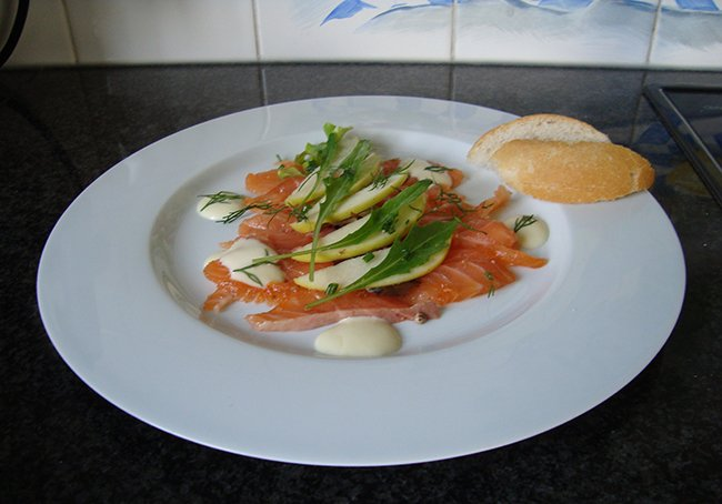 Gravad lax of gemarineerde rauwe zalm 1