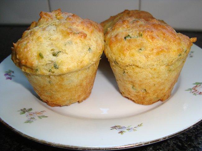 Hartige muffins met kaas en kruiden 1