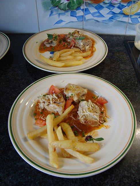 Saltimbocca met Passendale kaas en tomatensaus 1