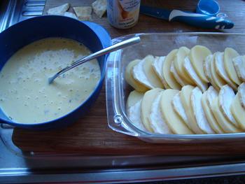 Aardappel-knolseldergratin met spek 6