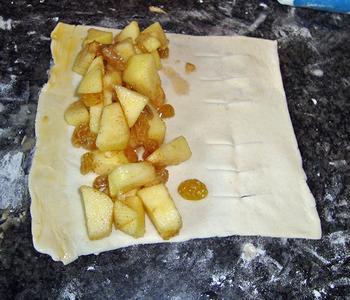 Appelstrudel met vanillesaus 6