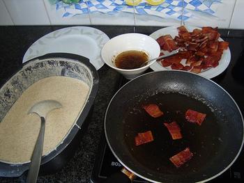 Boekweit pannenkoeken met spek 5