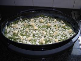 Boerenkrulkoolstamppot met een knapperig korstje en chipolata 7