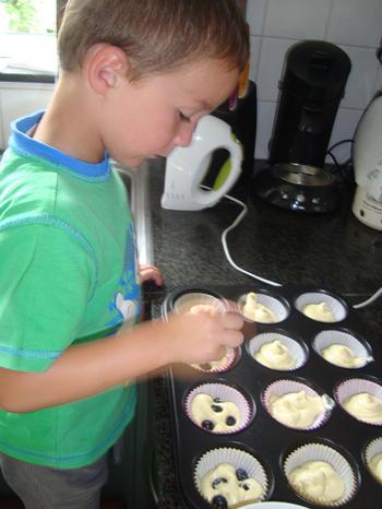 Een deeg, drie soorten cupcakes 4